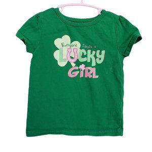 LUCKY GREEN T-Shirt 4T